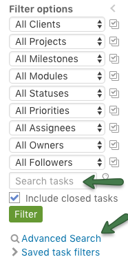 Search Lists