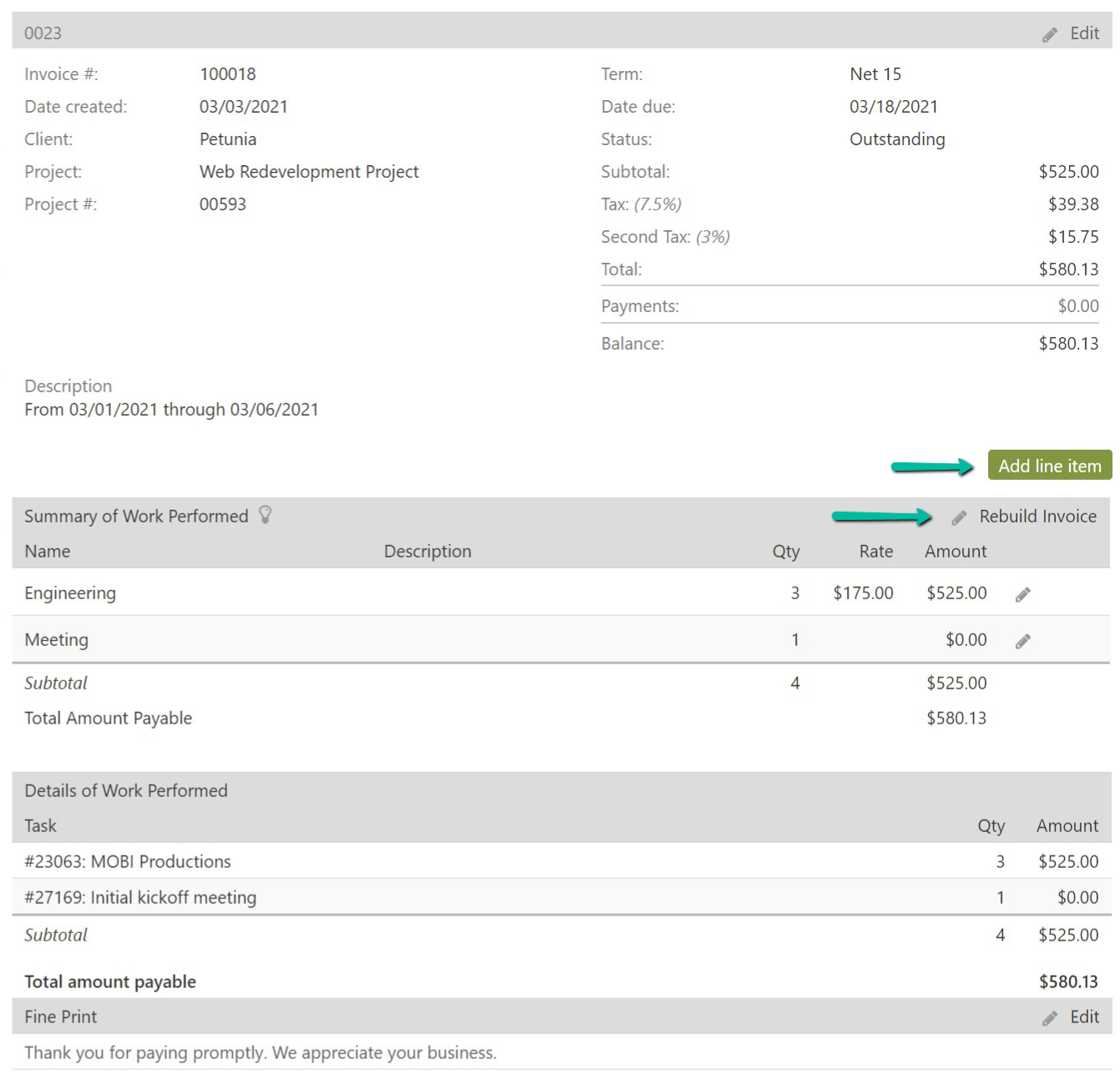 build-invoice-modify