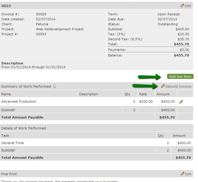 build-invoice-modify