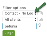Filter - Client: No Login
