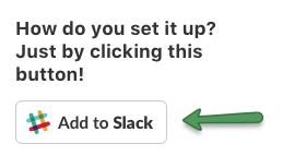 Add to Slack button