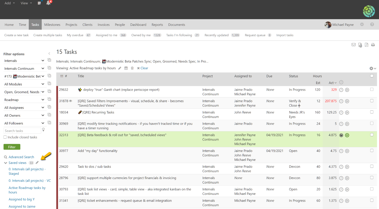 Manage Shared Views